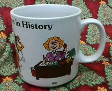 Russ Berrie Famous Working Women in History Coffee Mug Eve Lassie Whistler's Mom