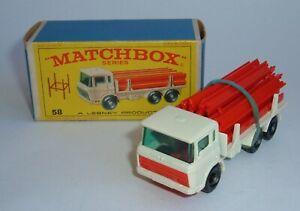 Matchbox Series No. 58, DAF Girder Truck, - Superb Mint Condition.