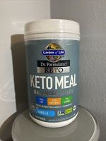 Garden of Life Dr. Formulated Keto Meal Balanced Shake - Vanilla Powder-14 srv.