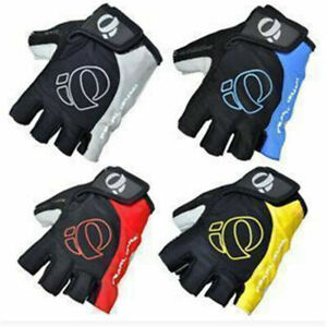 Fingerless Cycling Gloves Bike Bicycle Padded Half Finger Sports Motorbike Road