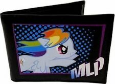 My Little Pony Friendship Rainbow Dash Brony Bifold Wallet