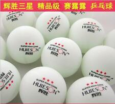 New 100Pcs super 3-Stars 40mm Olympic Table Tennis Balls Ping pong Balls white