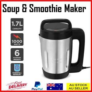 1.7L Soup Maker Fruit Juice Jam Smoothie Blender Dip Sauce Stainless Steel Jug