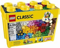 LEGO 10698 Classic Large Creative Brick Box Construction Set, Toy Storage, Fun C