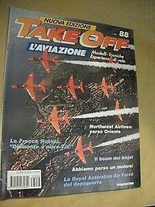 Rivista aeronautica TAKE OFF l'aviazione fascicolo n. 88 / le frecce rosse
