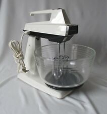 Vintage Hamilton Beach Scovill 5 Speed Convertible Stand & Hand Mixer ~Model 58