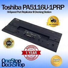 Toshiba PA5116U-1PRP Hi-Speed Docking Station (New in Box)