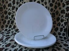 4 Corelle Dishes Winter Frost White Large Dinner Plates Set Of 4