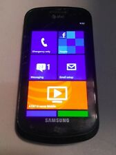 Samsung Focus (SGH-i917) - 8GB - AT&T - Windows Phone 7.8 - WORKS - READ BELOW