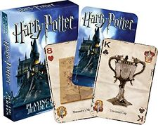 HARRY POTTER - PLAYING CARD DECK - 52 CARDS NEW - ROWLING MOVIE BOOK 52330