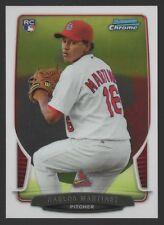 2013 BOWMAN CHROME #217 CARLOS MARTINEZ - ROOKIE CARD