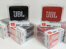 NEW JBL GO 2 Portable Waterproof Bluetooth Speaker GO2 - Black/Red