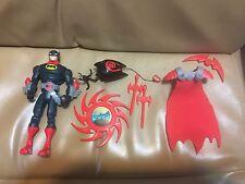 DC Mattel The Batman SHADOW TEK ULTRA Ninja Warrior BATMAN Action Figure w/Acc
