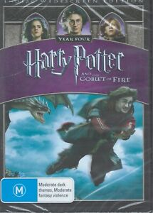 HARRY POTTER And The Goblet Of Fire DVD Region 4 NEW & SEALED Free Post