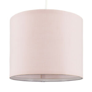 MiniSun Ceiling Light Shade - Modern Fabric Cylinder Pendant Lampshade Easy Fit