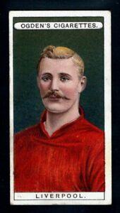 OGDENS FOOTBALL CLUB COLOURS 1906 LIVERPOOL - ALEX RAISBECK