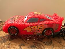 Disney Pixar Cars Lighting Mcqueen Rust-eze Cars Night Lamp w/Stand