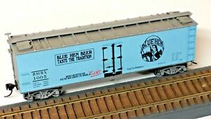 "HO Scale, Accurail ""Blue Hen Beer"" Old-Time Billboard Wood Reefer, Newark DE"