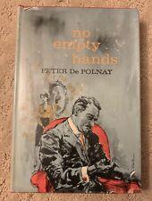 No Empty Hands by Peter De Polnay Hardcover