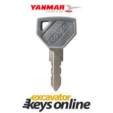 New Yanmar Excavator Key, Excavator Grader Dozer, Yanmar parts,