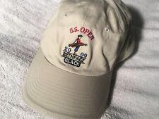 Us Open 2009 Bethpage Black Usga Member Golf Hat Cap Adjustable Baseball Tan