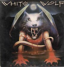 White Wolf Vinyl LP RCA Victor Records, 1984, NFL1-8042, Standing Alone ~ VG