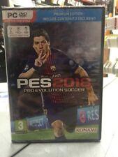 PES 2018 Pro Evolution Soccer 2018 Premium Edition Ita Pc DvdRom NUOVO SIGILLATO