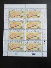 Slowakei Slovensko Ersttagsstempel 2005 KL Kleinbogen 512