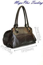 LYDC Designer Hobo Shoulder Tote Bag 8302 Brown
