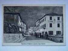 TERMINE DI CADORE Ospitale Casa Santin animata Belluno vecchia cartolina