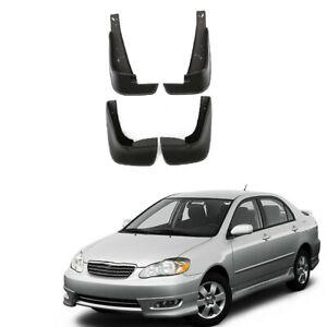 Mud Flaps Fit For Toyota Corolla 2003-2008 Mudguard Splash Guard Rear Front Set