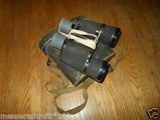 WW2 Imperial Japanese Army / Navy 7x50 Binoculars w/ Case & Straps - EXCELLENT!