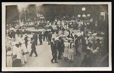 CRESCO IA Iowa c1910 RP Town Celebration #2