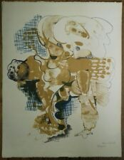 Paul Rebeyrolle : Lithographie Originale Signée Numérotée au crayon à la main