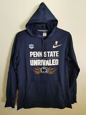 Penn State Unrivaled Fiesta Bowl Nike Therma-Fit Hooded Navy Sweatshirt  Men s L 0051fd691