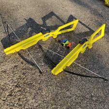 Petron Sureshot Toy Crossbow set - X2 Crossbows - Perfect for Quarantine