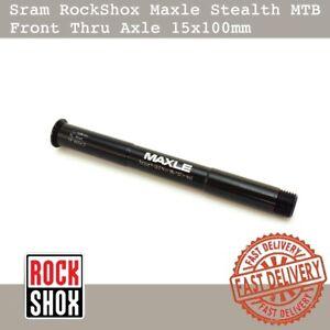Sram RockShox Maxle Stealth MTB Front Thru Axle 15x100mm L:148mm Mountain bike