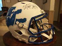 Matthew Stafford Signed Lions AMP Riddell Full Size Speed Helmet - FANATICS