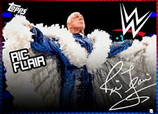 2020 HYPE DROP 2 BLUE SIGNATURE RIC FLAIR TOPPS WWE Slam Digital