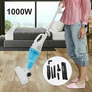 Upright 2 in1 Stick Powerful Vacuum Cleaner 1000W Corded Bagless Handheld Hoover