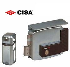 Serratura elettrica elettroserratura cancelli CISA 11761 sinistra entrata mm.60
