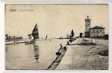 16135-Rimini-Porto Canale, ed. Benzi Giuseppe, cartolina d' epoca