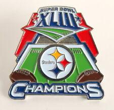 NEW Pittsburgh Steelers Super Bowl XLIII Champions Pin Button - STOCKING STUFFER