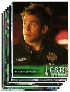 CSI: Cards BUY ONE CARD and get NINE FREE! -Your Choice! SEASON 5