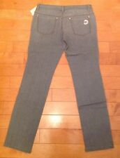 Michael Kors Grey Stone Wash Denim, Size 6P. New!! $129.50