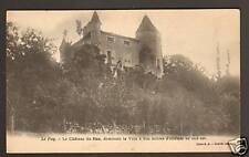 LE PUY (43) CHATEAU DU FIEU avant 1904