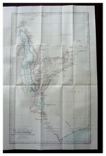1884 Johnson - NYASSALAND - Tribal Chiefs - COLOR ROUTE MAP - 9
