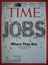 TIME MAGAZINE MARCH 29 2010 JOBS WHERE THEY ARE AND HOW TO FIND THEM