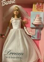 Barbie DREAM WEDDING BARBIE Doll 27374 Bridal Wedding Dress 2000 Mattel NRFB