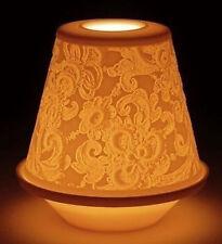LLADRO porcellana: lithophane votive LIGHT-Pizzo